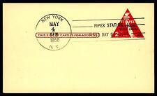 USA - STATI UNITI - Intero postale - 1956 - 5° Esposiz. Filatel. Intern. - FIPEX
