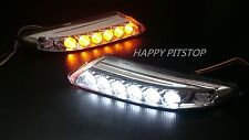 Porsche 911 997 Turbo 2007-2012 LED DRL Daytime running light+turn signal lamps