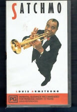#VV1.  VHS  MUSIC & DOCUMENTARY VIDEO TAPE - LOUIS ARMSTRONG