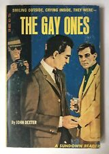 THE GAY ONES John Dexter GREENLEAF Classics Vintage GAY PULP Paperback