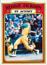 REGGIE JACKSON 72 IN ACTION ACEO ART CARD ###  BUY 5 GET 1 FREE ## or 30% OFF 12