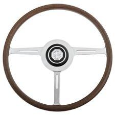 """PORSCHE CHESIL Speedster VW Kit Car 14/"""" ORO LEGNO CERCHIO VOLANTE KIT"""