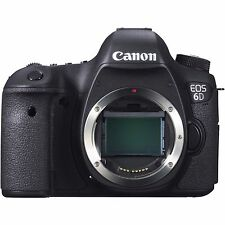 Canon EOS 6D 20.2 MP Digital SLR Camera - Black (Body Only) *BRAND NEW*