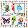 Children's Boys Girls Temporary Tattoos Kid Party Bag Fillers Childrens Transfer