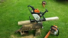 Chainsaw Mill vertical cut for planking and milling
