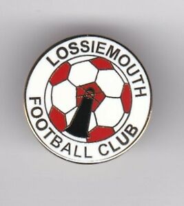 Lossiemouth ( Scottish Highland League ) - lapel badge butterfly fitting