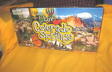 I Luv Colorado Springs Real Estate Trading Board Game New Sealed