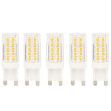 Neue Stil 5 Stück G9 LED Stiftsockellampe 5 Watt AC 220V Warmweiß 3000K
