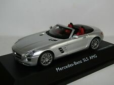 SCHUCO MERCEDES-BENZ SLS AMG ROADSTER SILVER 1/43 LIMITED EDITION OF 1,000