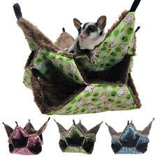 Pets Bird Hamster Ferret Rat Cat Squirrel Hammock Hanging Cage Nest Bed House Sl