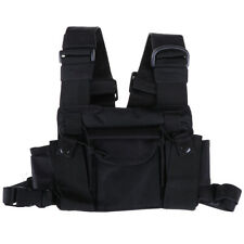 3 Pocket chest pack bag harness for walkie talkie radEc