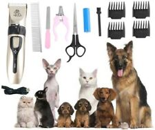 12 in 1 Dog Cat Grooming Kit Rechargeable Cordless Electric Hair Clipper Trimmer