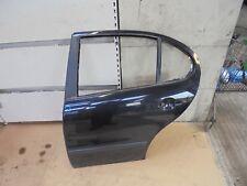 SEAT LEON 2000 MK1 NEARSIDE PASSENGER SIDE REAR DOOR PANEL BLACK