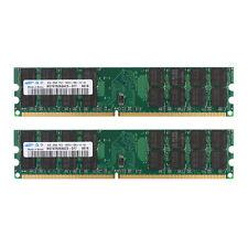 FOR SAMSUNG 8GB 2x 4GB DDR2 PC2-6400U 240pin 800MHz MEMORY DIMM DESKTOP RAM AMD