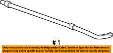 FORD OEM 03-06 Expedition Stabilizer Sway Bar-Rear 5L1Z5A772AA
