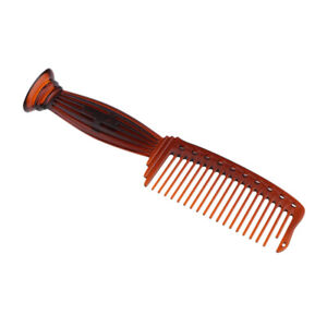 22cm Plastic Coarse Teeth Scalp Massage Rake Comb for Long Thick Curly Hair
