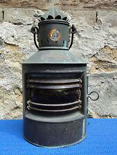 Nautika Lampe Laterne Kupfer Leuchte Bakboord Leuchturm Licht Schifflampe
