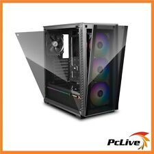 Deepcool MATREXX 70 ARGB 3F Full Size Tempered Glass Case 3 ARGB Fans Preinstall