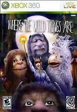 BRAND NEW Sealed Where the Wild Things Are (Microsoft Xbox 360, 2009)