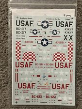 Aero Master Decals 1:72 Invaders In The Sky U.S. Air Force USAF #72-042