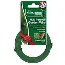 30m Multi Purpose Garden Wire 1mm Strong Green Plant Tie Support Holder Cable