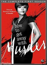 How to Get Away with Murder ~ Complete First Season 1 One ~ NEW 4-DISC DVD SET