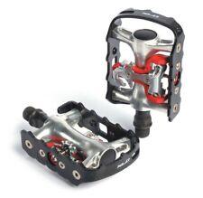 XLC Fahrrad System-Pedal PD-S01einseitig, schw./silber, SPD kompatibel