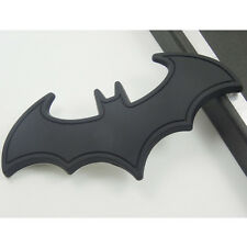Car 3D Metal bat auto logo sticker car paster batman badge emblem Black Cartoon