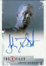X FILES: Seasons 10 & 11 Autograph Card!!! JOHN DeSANTIS as Band-Aid Nose Man