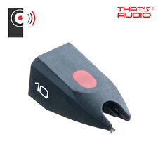 Genuine Ortofon OM10 elíptica Stylus para Ortofon Doble & Pro-ject