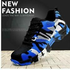 Mens Sport Sneaker Indestructible Military Battlefield Shoes Steel Toe Work @