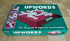 Upwords Board Game - The 3D Game of High Rise Word Building - Parker 1996