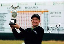 Paul BROADHURST SIGNED AUTOGRAPH 12x8 Photo 2 AFTAL COA Golf Seniors Winner