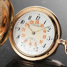 A. Lange & Söhne DUF 14K (0,585) Gold Savonnette Handaufzug Taschenuhr
