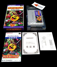 PAC IN TIME Pacman Super Famicom Nintendo SNES COMPLETO Jap