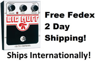 New Electro-Harmonix EHX Big Muff Pi Distortion Sustainer Effects Pedal