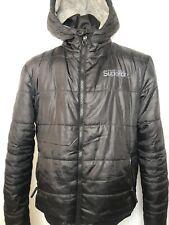 Superdry Japan Woman's Winter Coat XXL Black Hooded