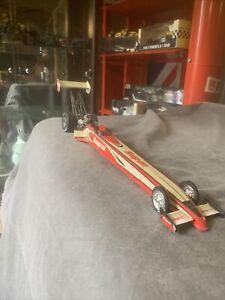 SNAP ON DRAGSTER DRAG CAR DIE CAST 1:24 MODEL CAR RACING
