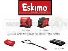 234195 Eskimo EVO 2 IT Exclusive Accessory Bundle Tow Hitch Travel Cover Runners