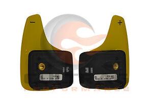 2014-2019 C7 Corvette Genuine GM Yellow Automatic Paddle Shift Switch Set
