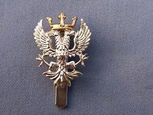 Staybright/Anodised.The Mercian Regiment cap badge.