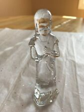 WATERFORD CRYSTAL NATIVITY SHEPHERD BOY WITH HORN MINT