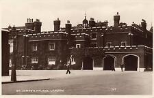 1910's VINTAGE REAL PHOTO POSTCARD - St. JAMES PALACE, LONDON - Excel Series 147
