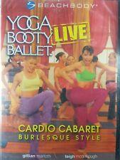 Yoga Booty Ballet Live Cardio Cabaret: Burlesque Style DVD Beach Body Dance
