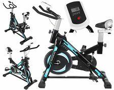 Heimtrainer Spinnrad mit Trainingscomputer Stationärfahrrad für Zuhause Cardio-