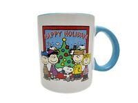 2014 Peanuts Wordwide LLC Happy Holidays 18 oz. Ceramic Coffee/Tea Cup/Mug