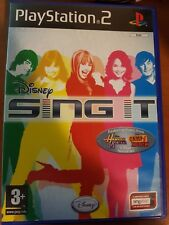 DISNEY - SING IT - PLAYSTATION 2 PS2 USATO