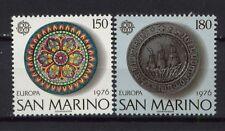 Saint-Marin 1976 SG # 1060-1 europa ensemble neuf sans charnière