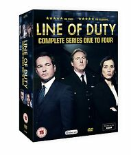 Line Of Duty Series season 1, 2, 3 & 4 DVD Box Set new & sealed R4