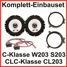 Set ALTOPARLANTI Classe C w203 s203 CLC cl203 Alpine sxe-1725s 2 vie ANTERIORE